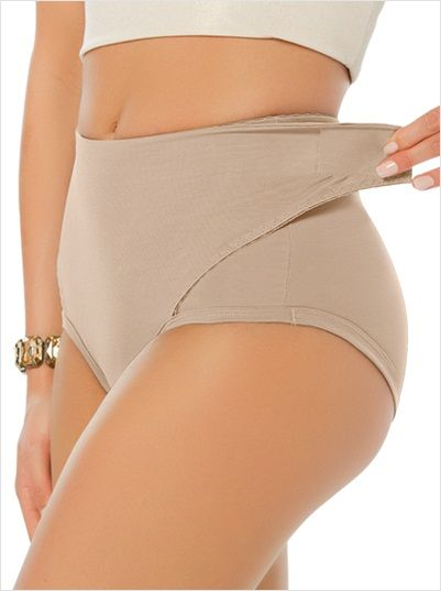 Postpartum Panty with Adjustable Belly Wrap | Fashion,Fashion ...
