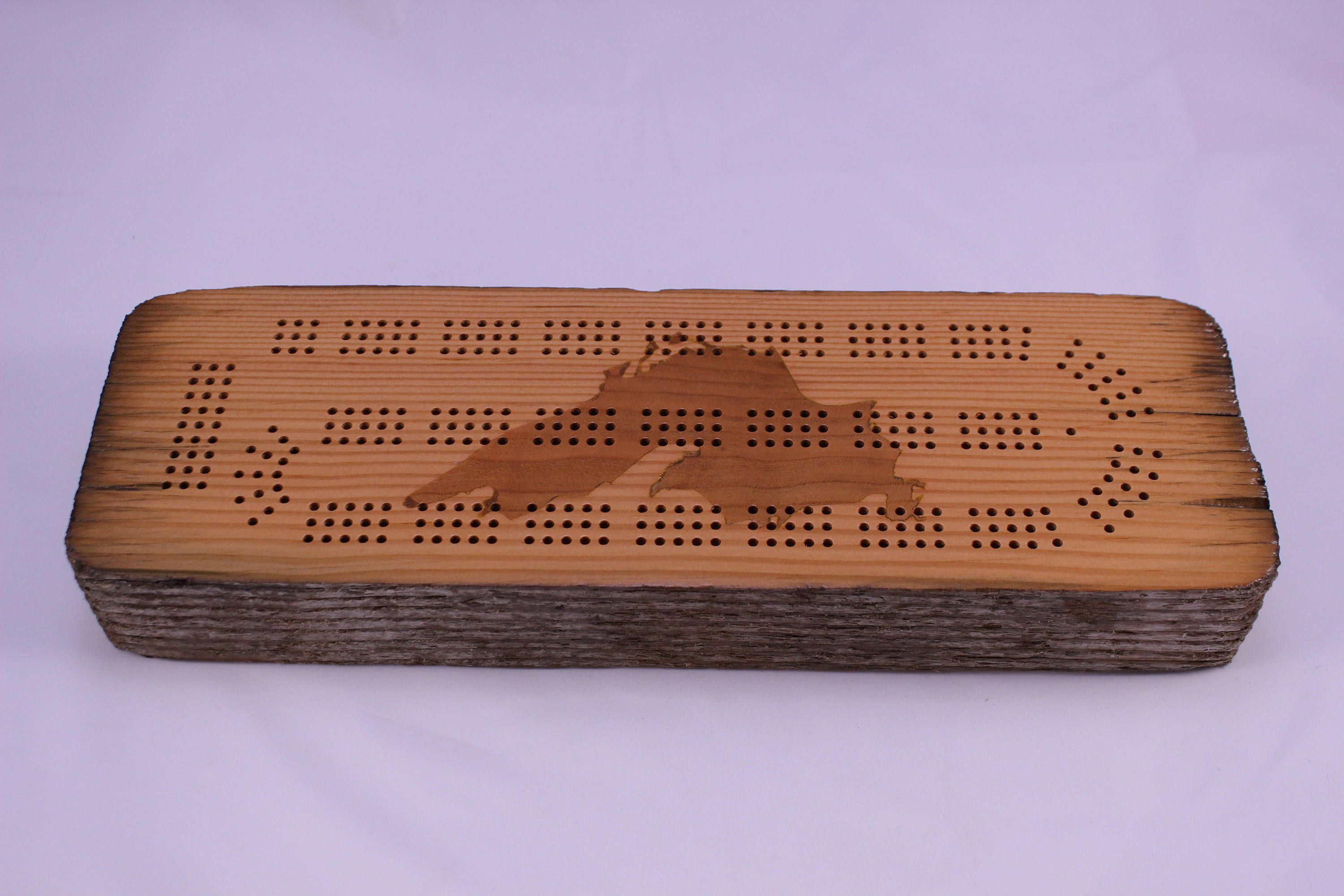 Lake Superior Driftwood Cribbage Board By Superiorwoodcraft On Etsy Unique Cribbage Board Cribbage Cribbage Pegs