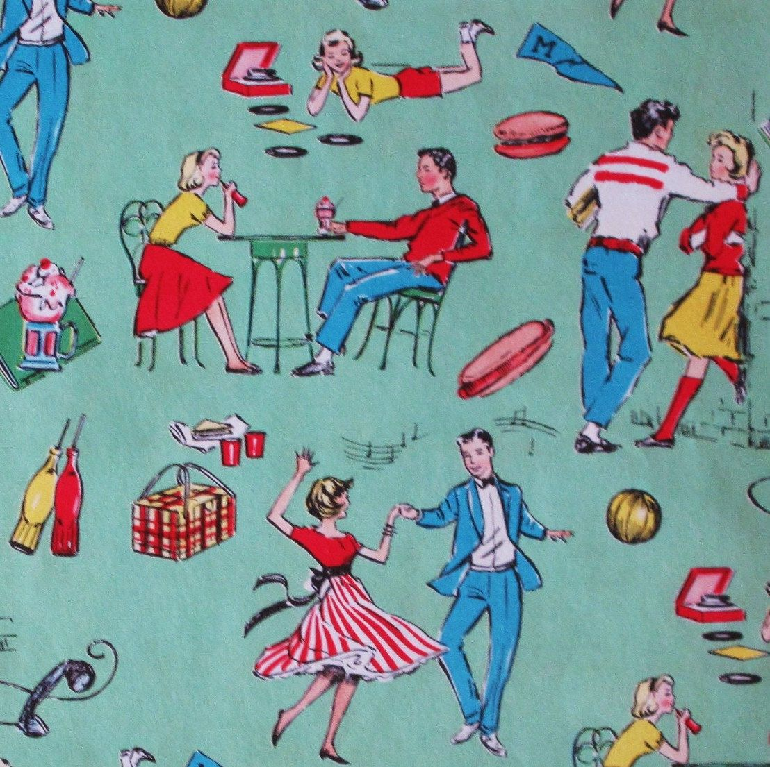 Vintage Inspired Christmas Gift Wrap Ideas - Petticoat ...