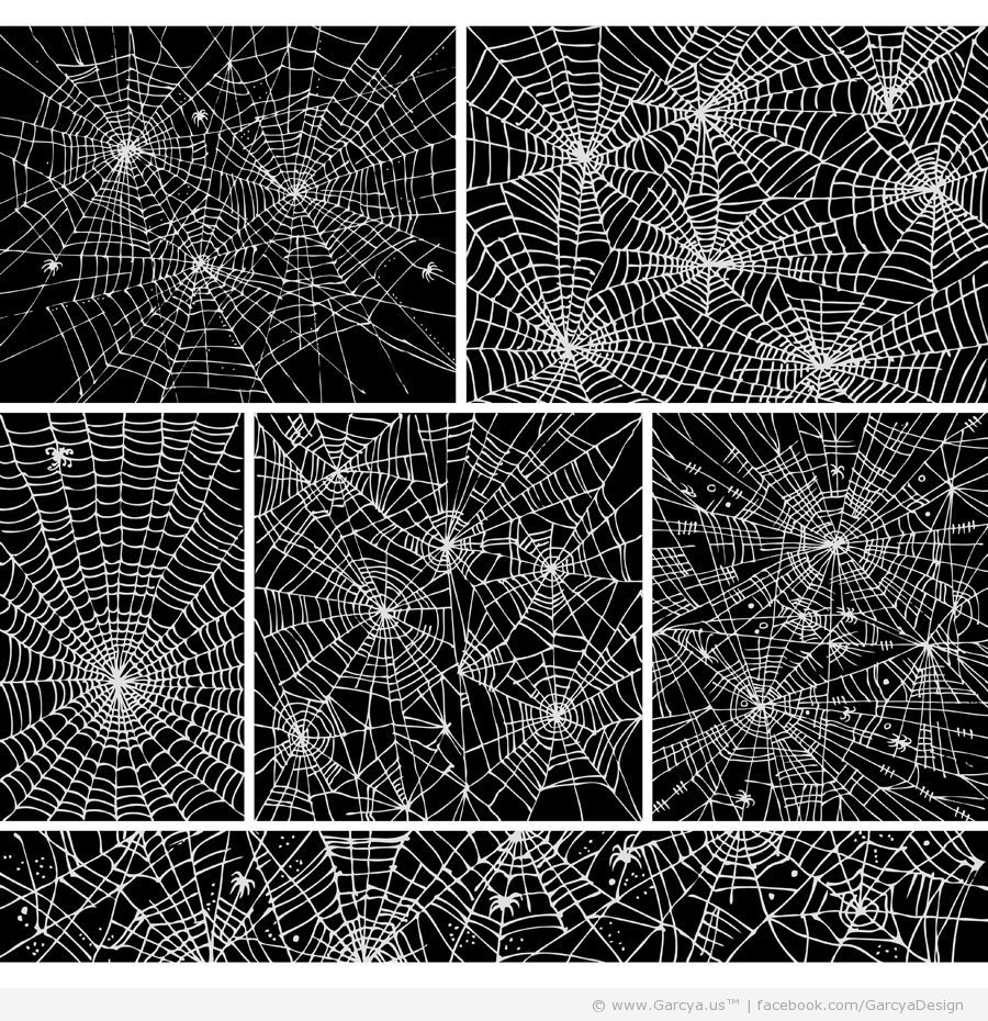 Spider Webs – Free Vectors Download | YourSourceIsOpen ...