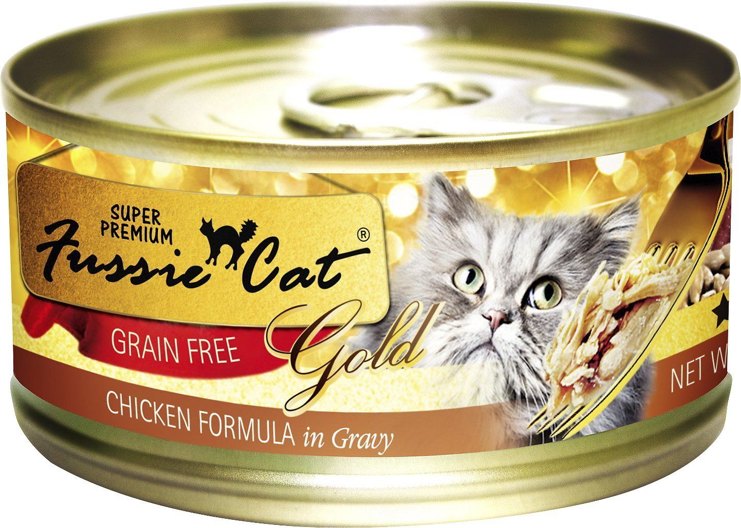Fussie cat chicken and gravy 3oz Products Canned cat