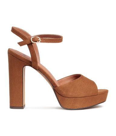 Extravagante Plateau High Heels, 29,95 €
