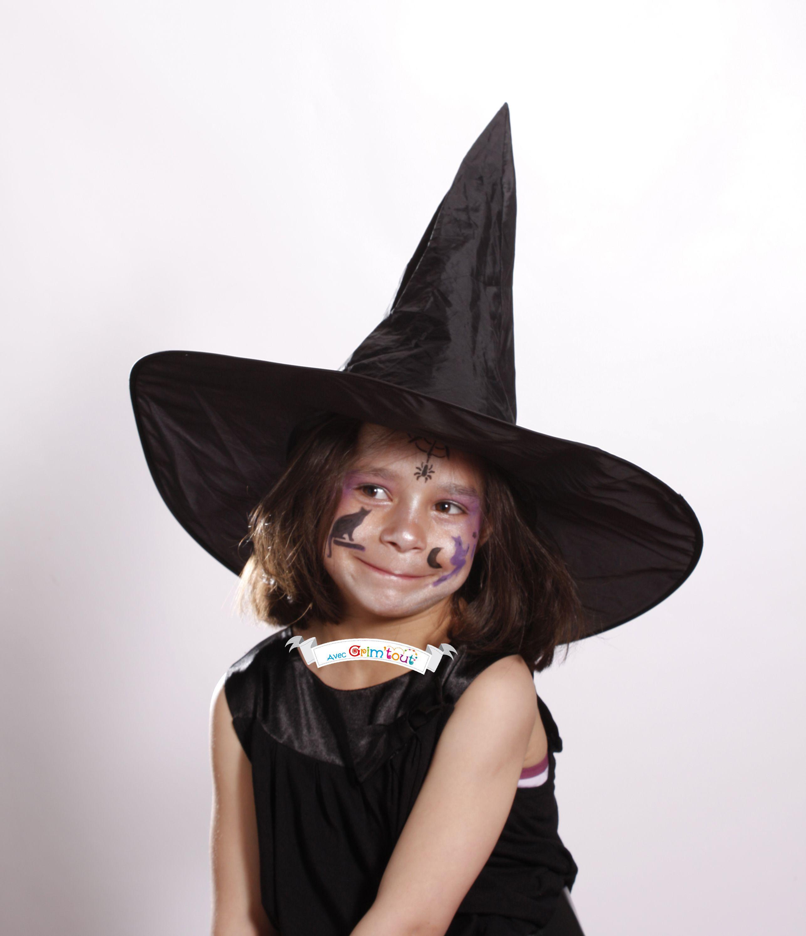Un maquillage simple pour devenir une gentille sorcière