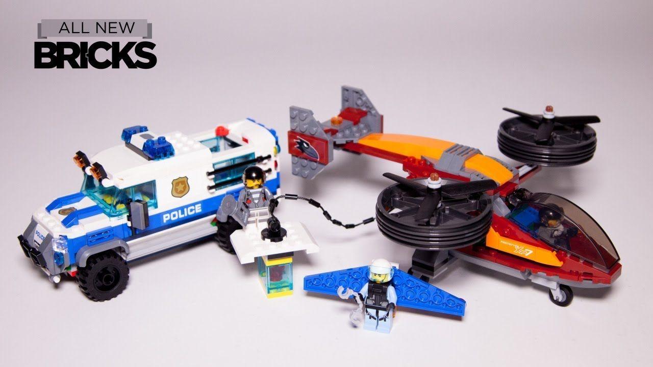 Lego City 60209 Sky Police Diamond Heist Speed Build Lego City Lego City Police Sets Lego City Police