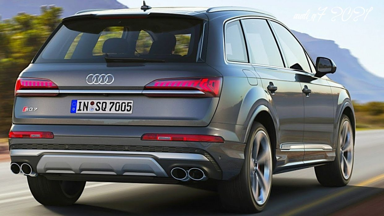 Audi Q7 2021 Speed Test In 2020 Audi Q7 New Audi Q7 Audi