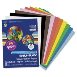 Pacon Tru-Ray Construction Paper #constructionpaperflowers
