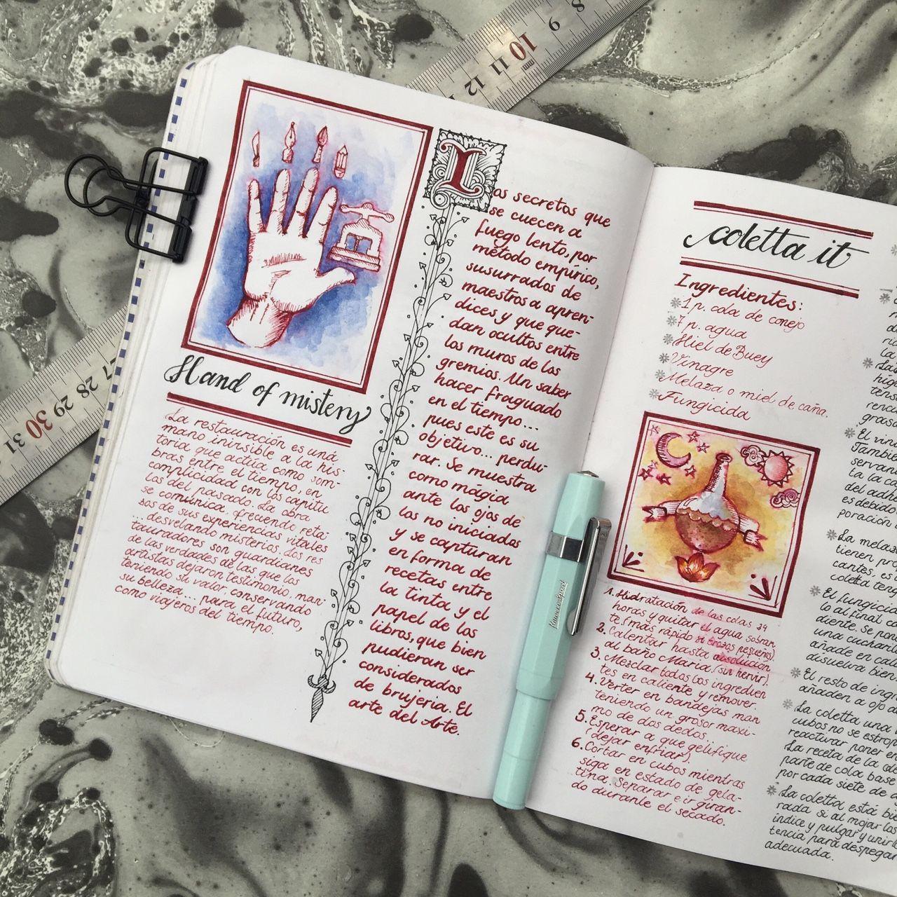 Lacreativista La Creativista Art Journaling And Bookbinding Art Journal Journal Bullet Journal Inspiration