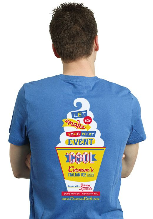 Carmen S Italian Ice T Shirt Design By Seth Group The
