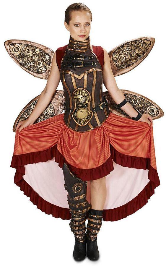 Adult Steampunk Lady Costume Halter