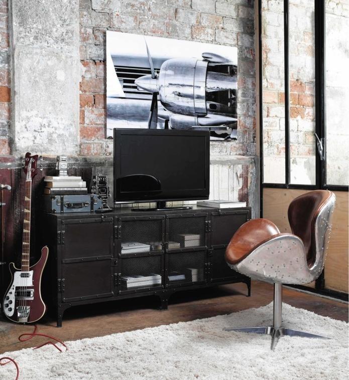 Meuble TV bibliothèque design en 50 idées inspirantes Room - Meuble Bibliotheque Maison Du Monde