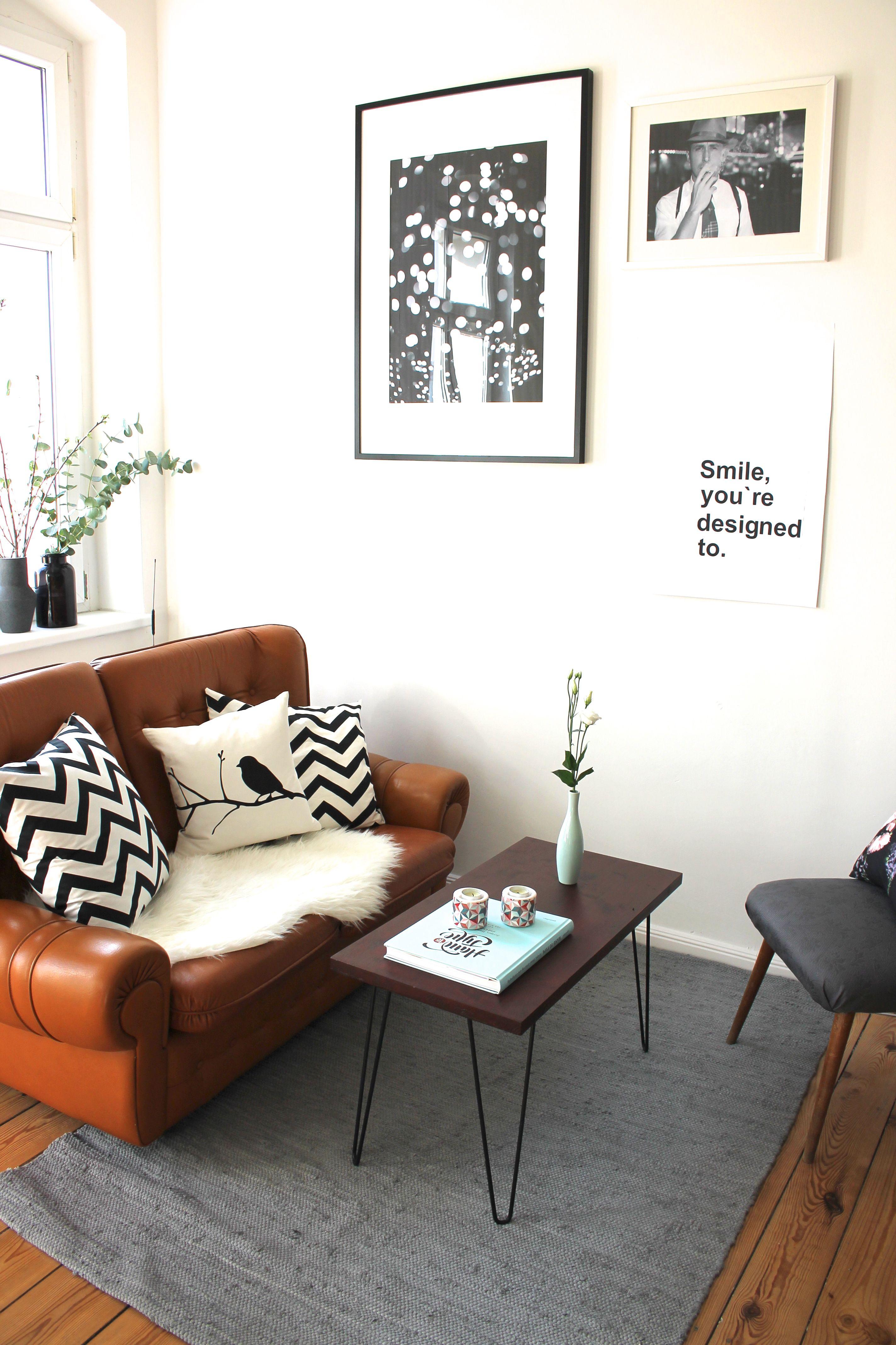 Kleine Leseecke. Mit meinem liebsten Vintage Sofa! | Home ...