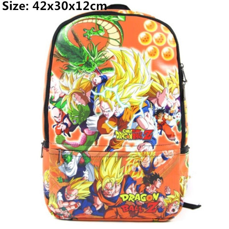 Dragon ball Z Around The Bag Backpack Animated Cartoon Student Backpack  42x30x12cm  Affiliate aa791d64573e2