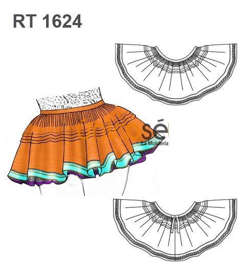 73b3cf894a FALDA CAPORAL TIRANA Traje Típico