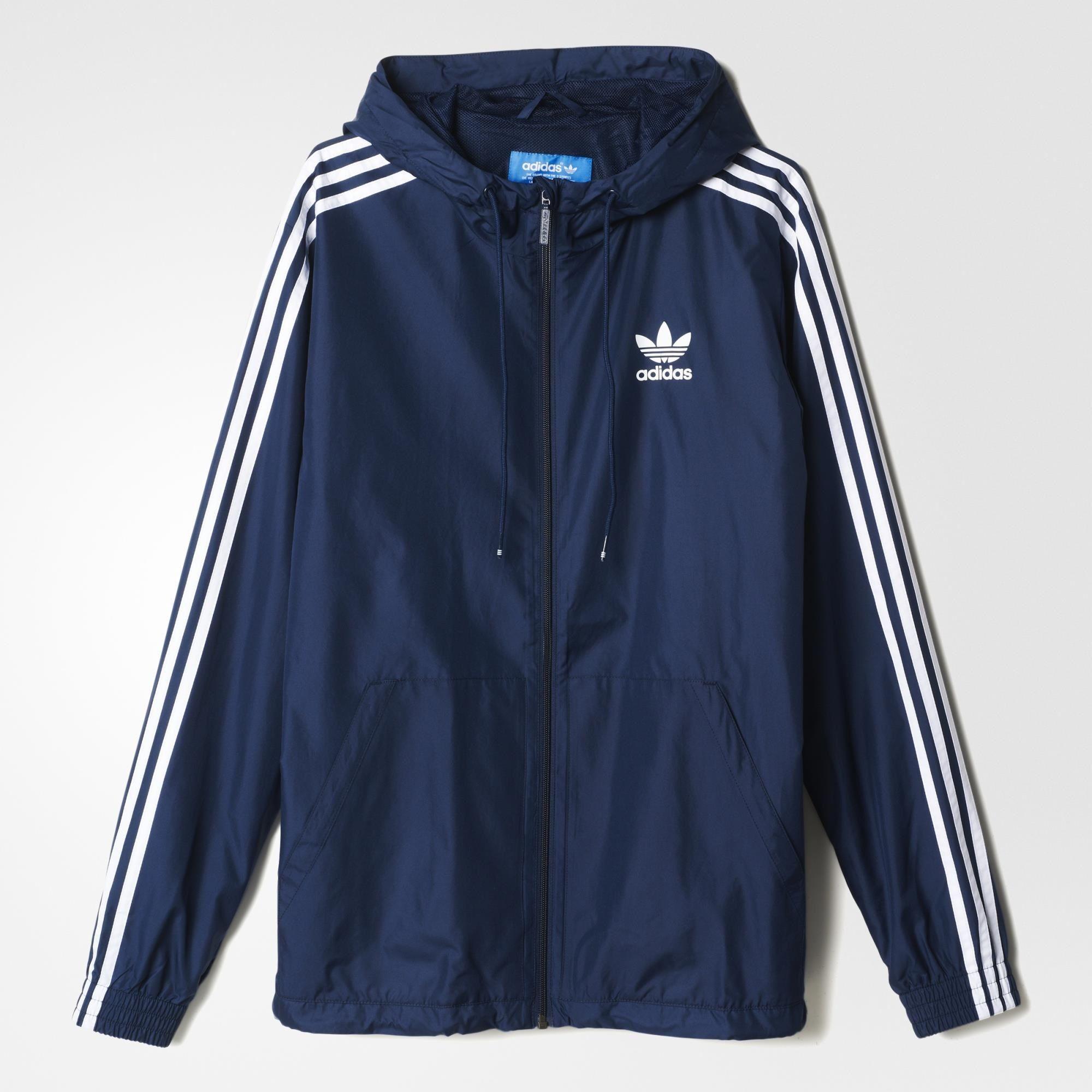 Adidas Itasca Windbreaker Blue Adidas Uk Hoody Outfits Adidas Jacket Outfit Adidas Outfit