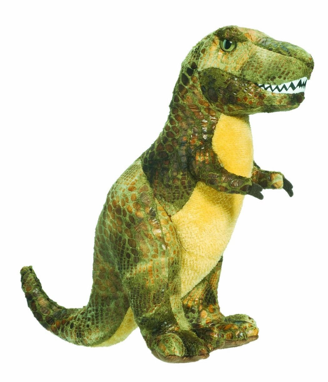 Small 10 Inch Plush Tyrannosaurus Rex Stuffed Animal W Sound