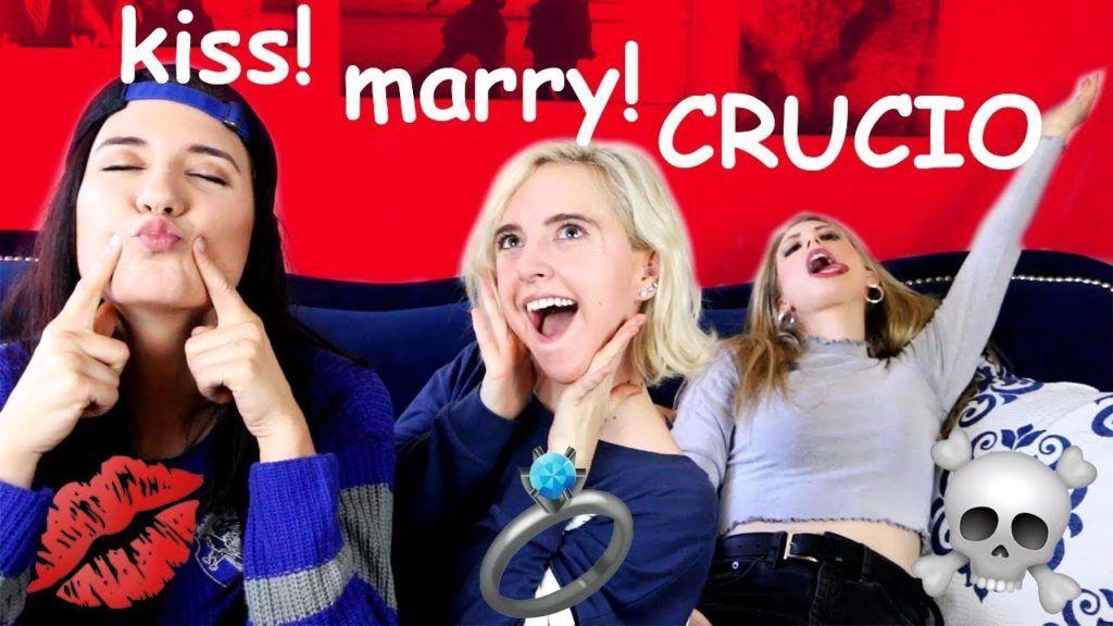 Kiss Marry Crucio Harry Potter Kiss Marry Kill Ft Brizzy Voices Christine Riccio Harry Potter Kiss Brizzy Voices Christine