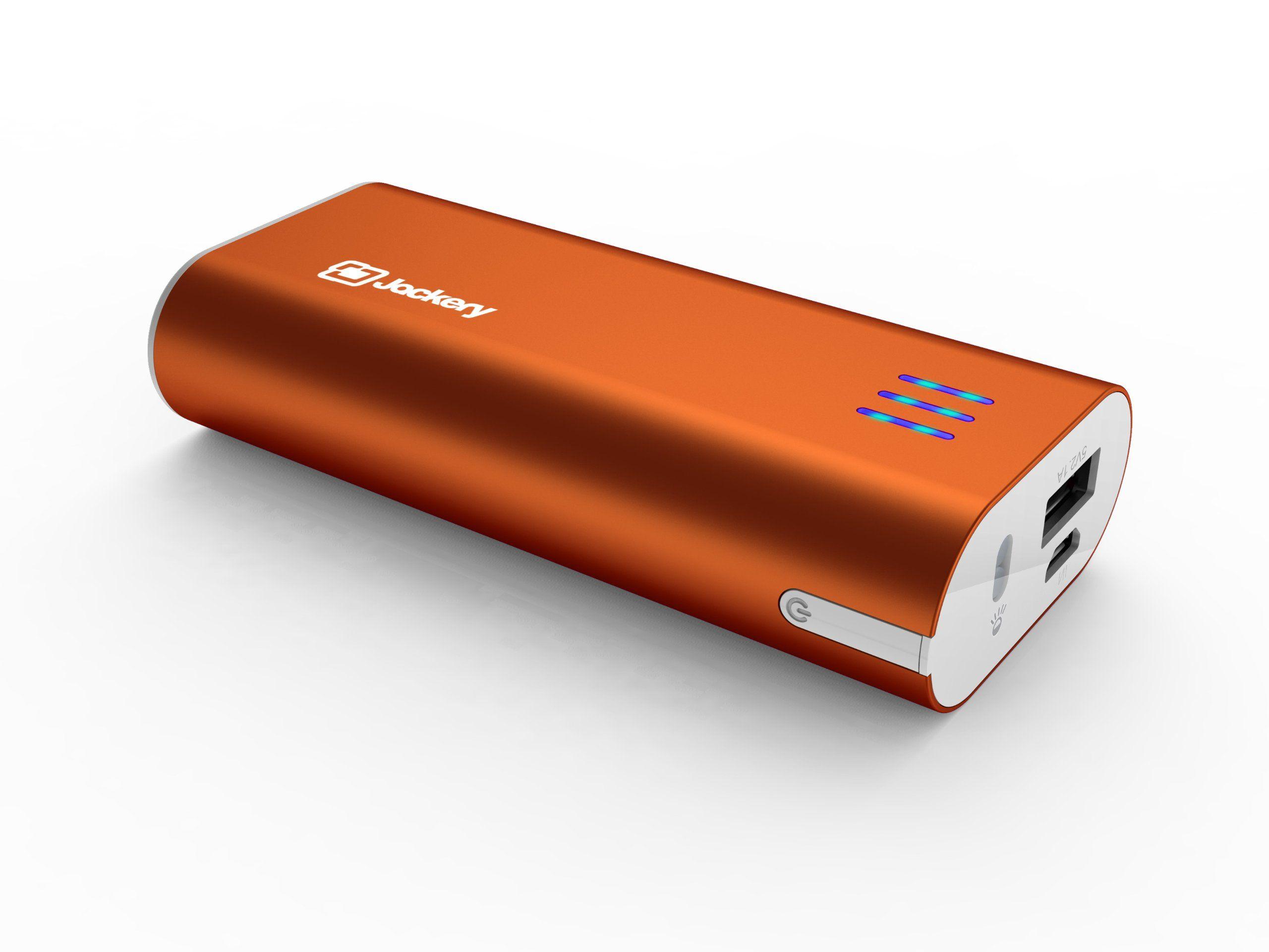Jackery bar premium aluminum iphone charger external