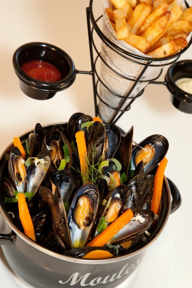 Moule Frites Not A Paris Memory But Definitely A Memory From