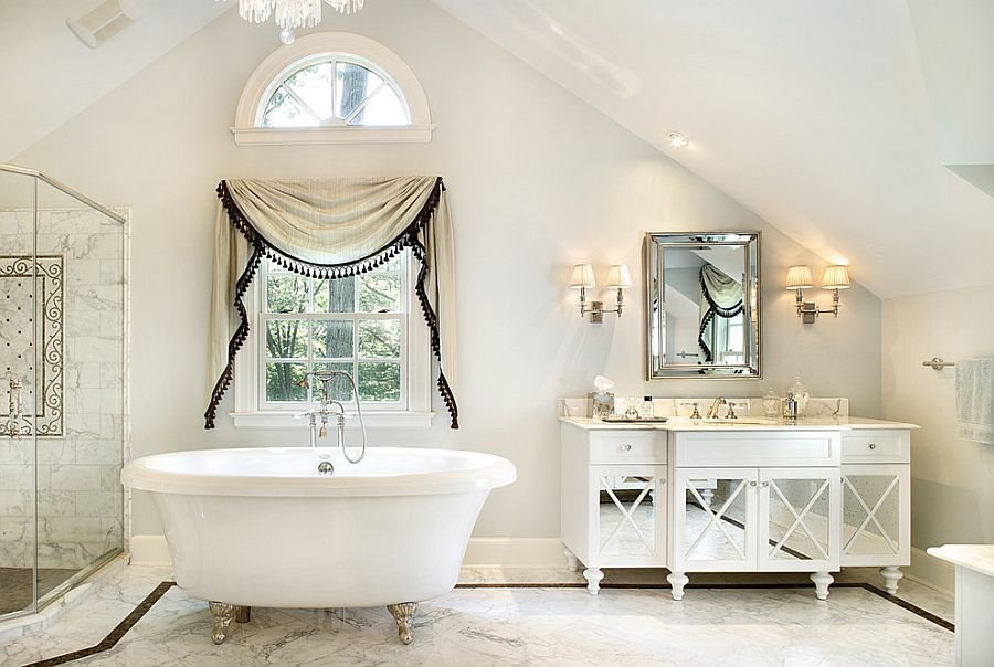 Revitalized Luxury 30 Soothing Shabby Chic Bathrooms Chic Bathroom Decor Shabby Chic Bathroom Decor Shabby Chic Bathroom
