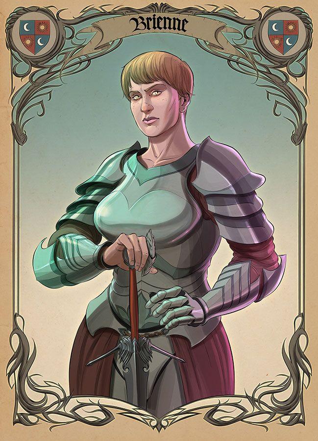 Brienne of Tarth - Game of Thrones - Tamas Baranya