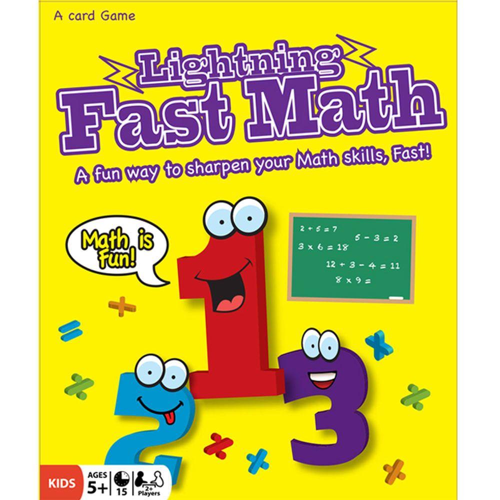 Lightning Fast Math | Maths, Math card games and Learn math