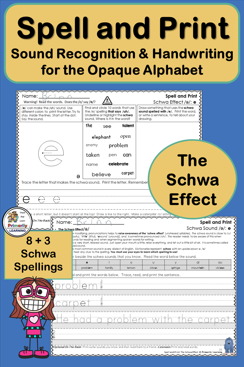 Handwriting And Spelling The Shwa Effect Phonics Programs Schwa Jolly Phonics [ 1440 x 960 Pixel ]