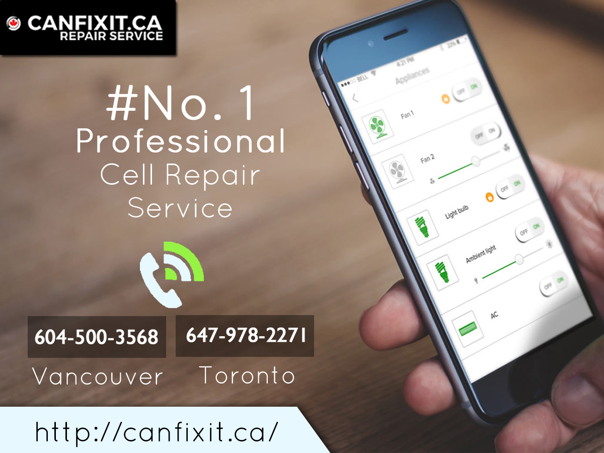 CanFIxIt.ca is the No. 1 Professional Cell Phone Repair