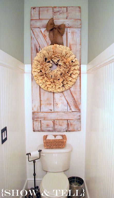 Deco Wc 12 Idees Superbes De Decoration Toilette Home Decor