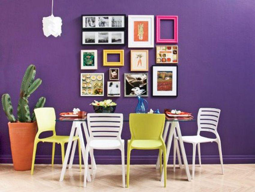Ideias para decorar as paredes da sala de jantar.