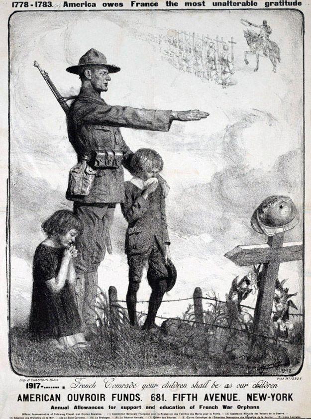 Au bois belleau,World War I,WWI,Lucien Jonas,American Soldier,Belleau Wood,1918