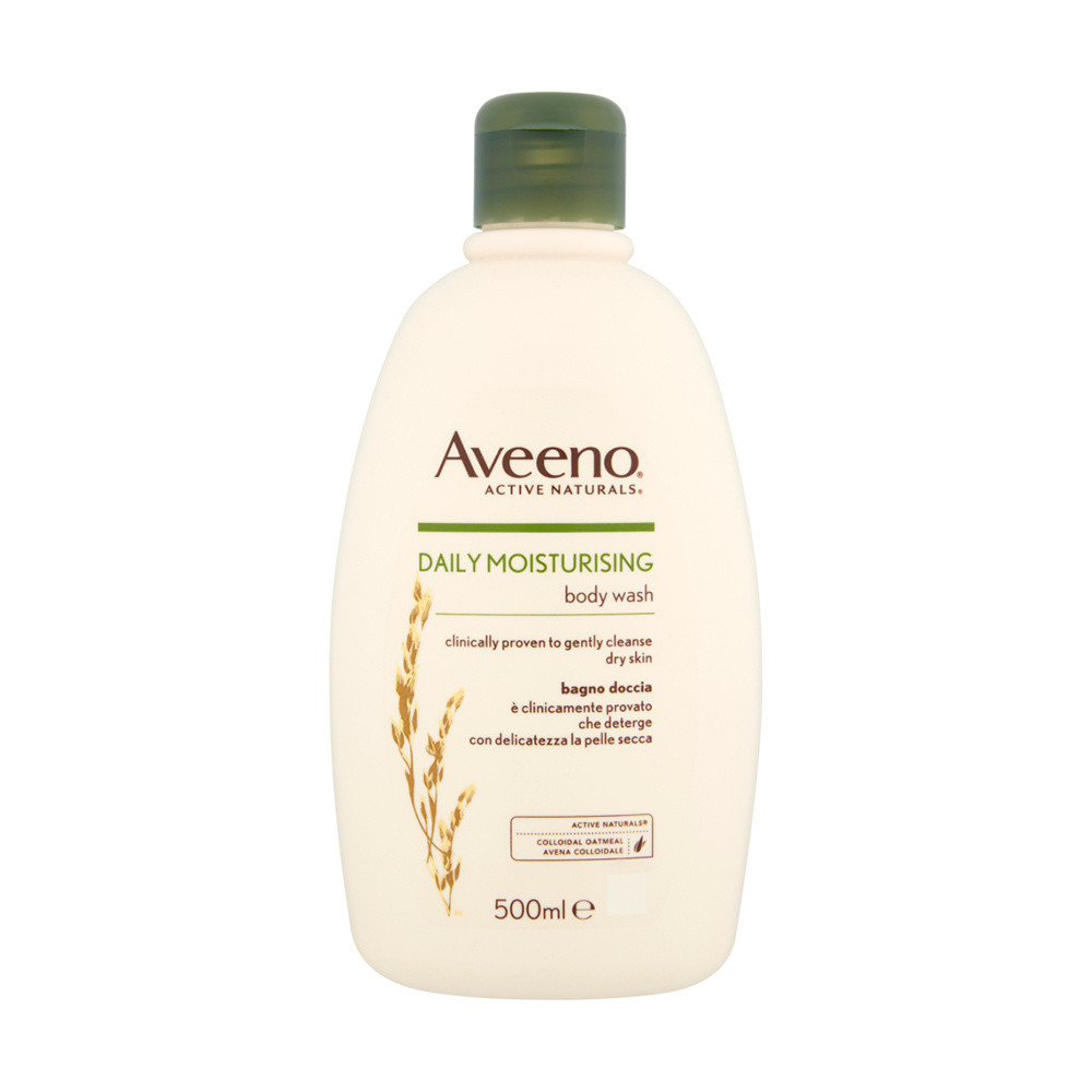 Aveeno Moisturising Body Wash With Natural Colloidal Oatmeal