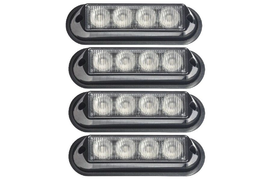 The Pilot 4 LED grille and surface mount lights from Extreme Tactical Dynamics is a great  sc 1 st  Pinterest & The Pilot 4 LED grille and surface mount lights from Extreme ...