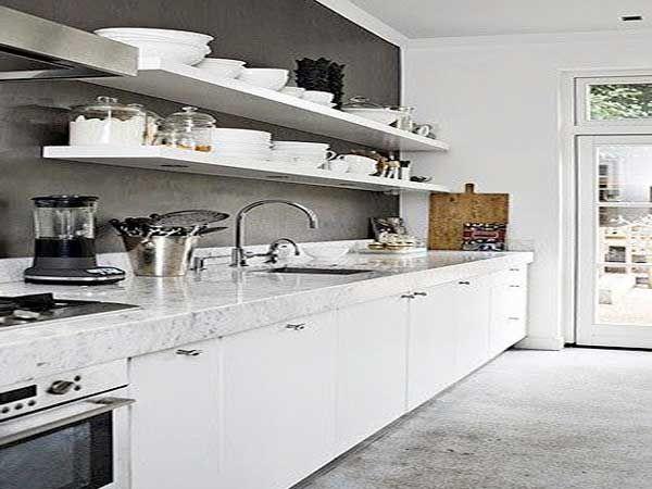 Stunning Deco Cuisine Blanc Et Bois Pictures - Seiunkel.us ...
