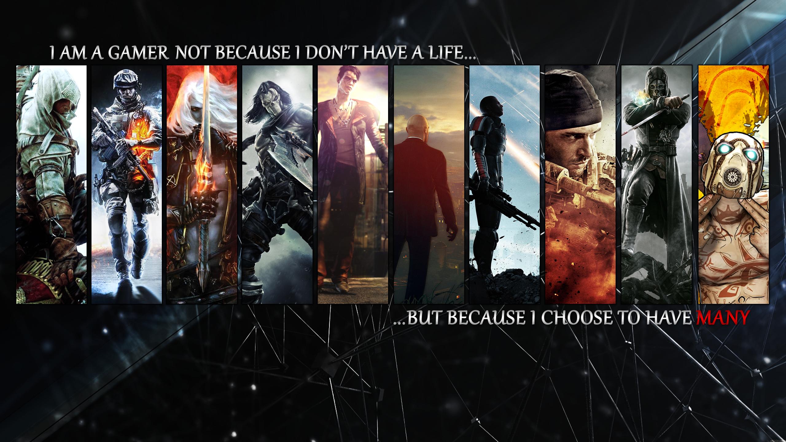 Gamers Gaming Wallpapers Gamer Mass Effect