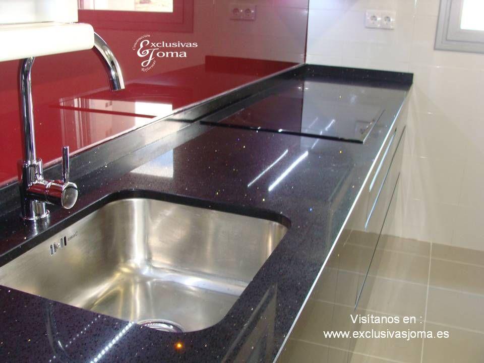 Nueva instalaci n de muebles de cocina en negro alto - Remates de cocinas ...