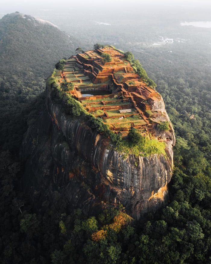 The Ancient City of Sigiriya, Sri Lanka #naturallandmarks