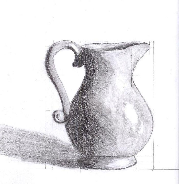 Ein Stillleben Zeichnen Lernen 14