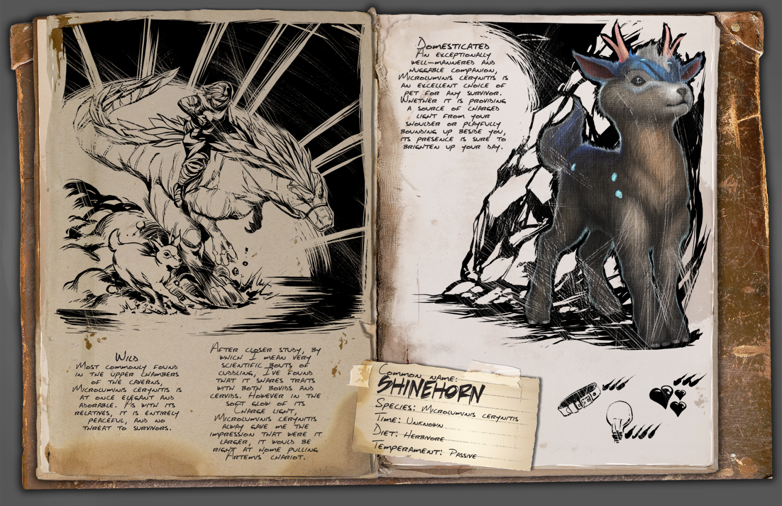 Shinehorn From Ark Aberration Mythological Animals Ark