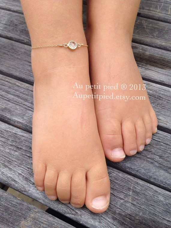 Peridot Baby Ankle Bracelet Toddler Anklet Birthstone Jewelry Boy Gift Newborn On Etsy 32 00