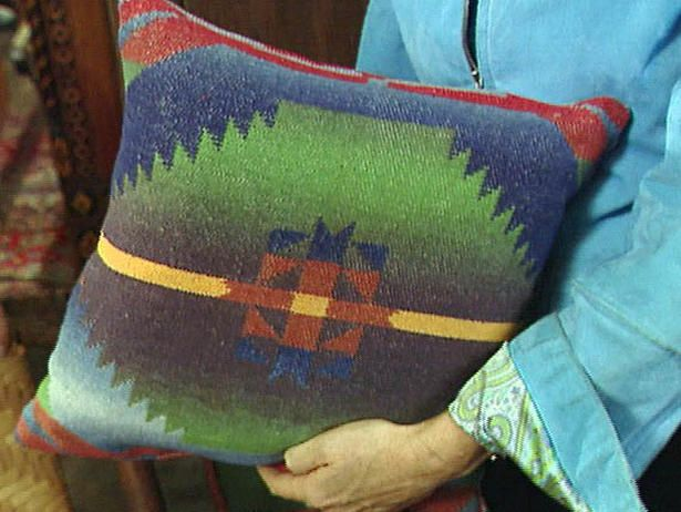 Pillow From Camp Blanket Rustic Adirondack Decor