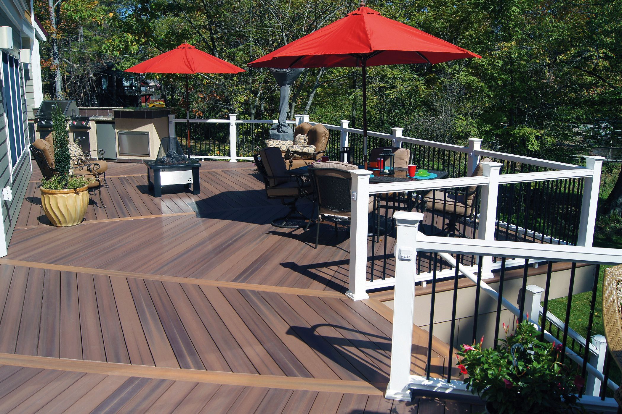 Totally Fresh Trex Decking Colors For Patio Ideas Patio