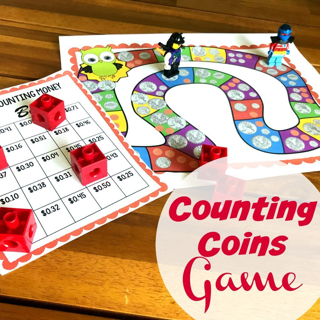 Free No Prep Counting Coins Game