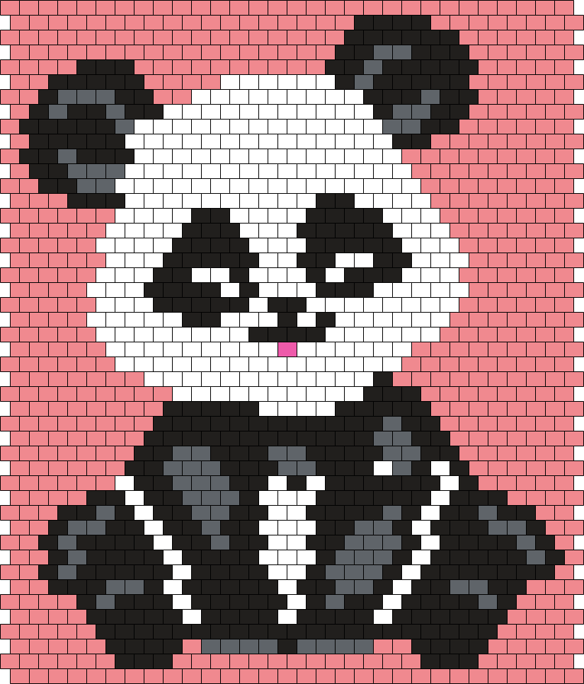 Little Panda (30 X 46 Peyote/Brick Stitch Pattern)   Man in the ...