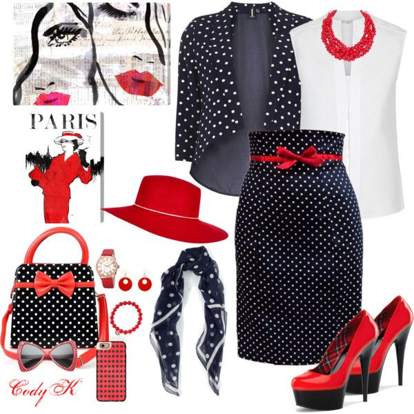 Polka Dots by cody-k on Polyvore featuring Hobbs, Izabel London, Humble Chic, bürgi, Sydney Evan, Erica Lyons, Ralph Lauren, River Island, Casetify and Oliver Gal Artist Co.