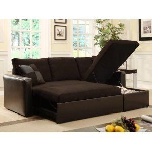 Adjustable Sectional Sofa Bed W Storage Chaise So Practical I D