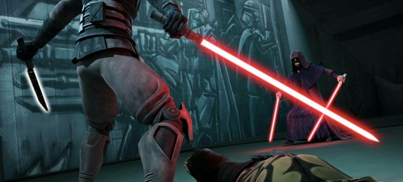 Darth Maul Vs Sidious Clone Wars