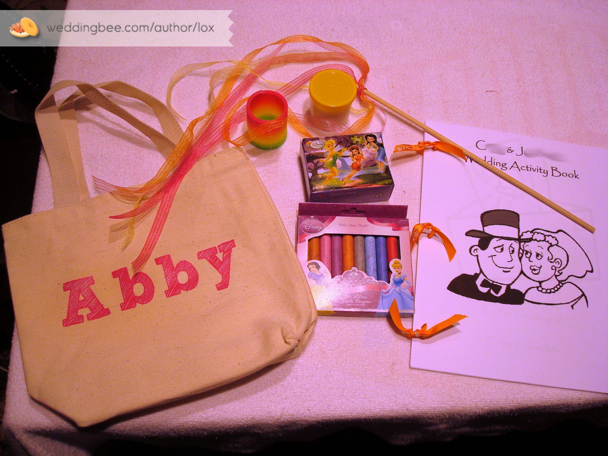 Wedding Favor Bag For Kids | Wedding | Pinterest | Wedding favor ...