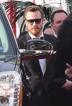 Ginger Beard at Golden Globes!