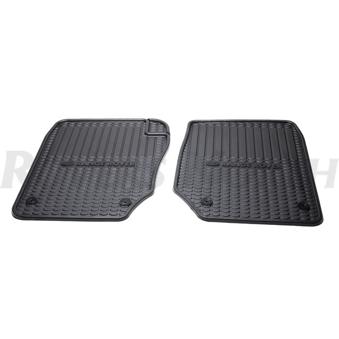 Rubber Mat Set Front Pr 38a Range Rover Rnd230 Stc8890aa Rovers North Classic Land Rover Parts Range Rover Land Rover Rubber Mat