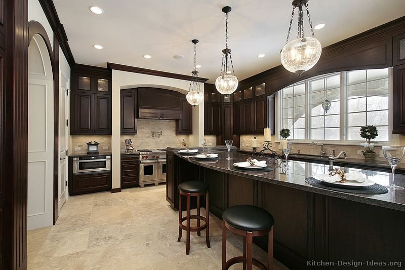 17 Best images about Dark Wood and Black Kitchen Ideas on ...